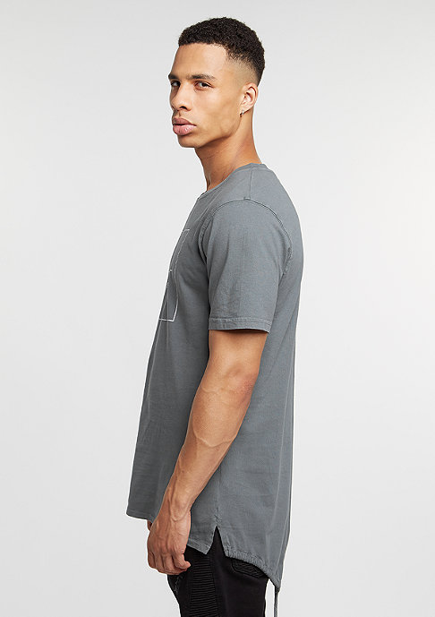 Cayler & Sons T-Shirt BL Box Fishtail washed grey/white