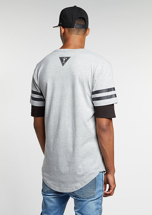 Cayler & Sons T-Shirt WL Ivan Antonov Scallop greyheather/black/white