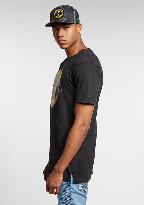 Cayler & Sons C&S GL Tee Budz N Roses Long washed black/mc