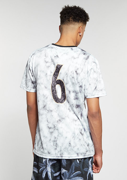 Cayler & Sons C&S WL Jersey Savior Soccer white marble/black