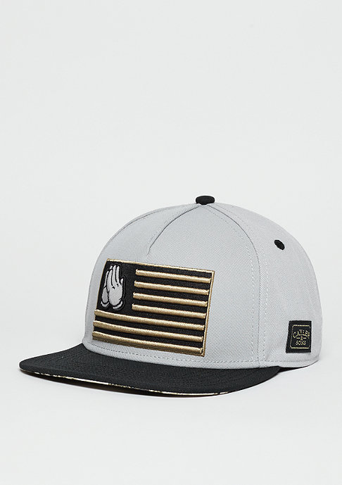 Cayler & Sons C&S WL Cap Blessed grey/black/gold