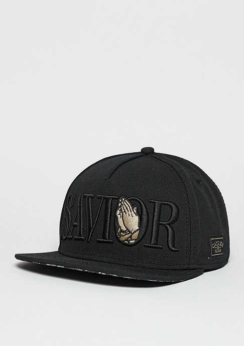 Cayler & Sons Snapback-Cap WL Savior black/gold