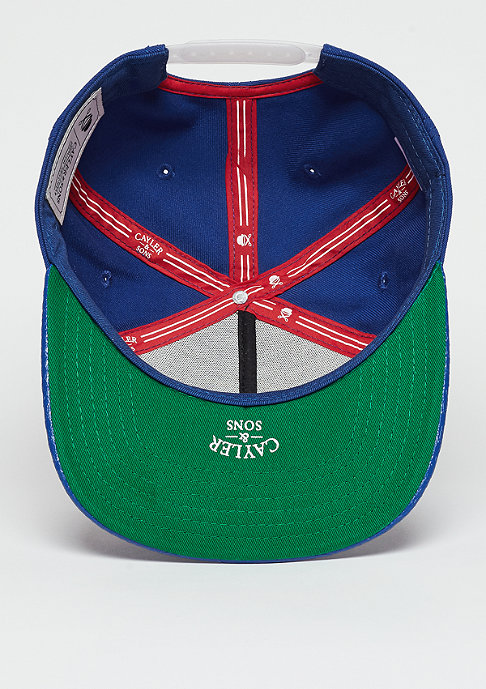 Cayler & Sons Snapback-Cap WL Cap The Six royal blue/red/white