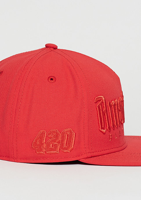 Cayler & Sons C&S GL Cap Amsterdam Mono lazer red