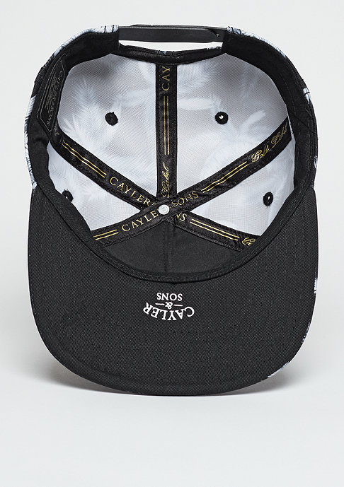 Cayler & Sons Snapback-Cap GLD Palms black/grey