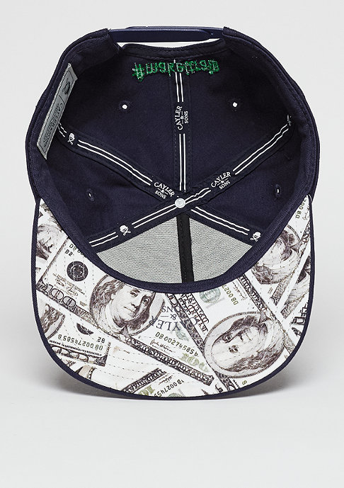 Cayler & Sons C&S WL Cap Make it Rain navy/mc