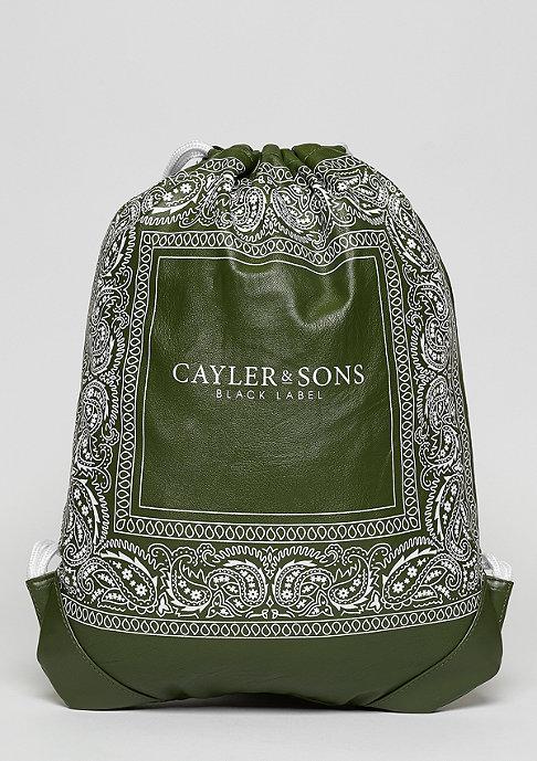 Cayler & Sons C&S BL Paiz Gymbag olive/white