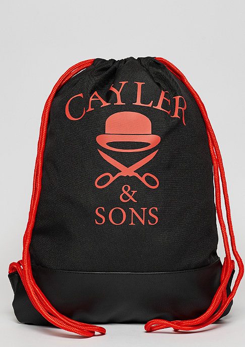 Cayler & Sons C&S WL Don't Fuck Gymbag black/orange/grey