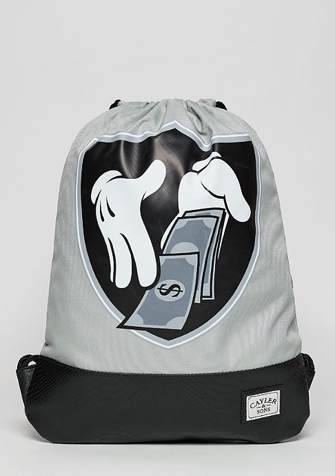 Cayler & Sons C&S WL Money To Blow Gymbag grey/black/silver