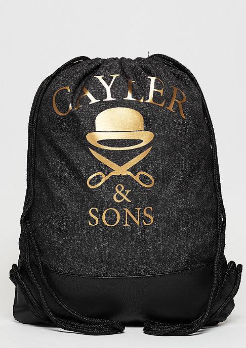 Cayler & Sons C&S GL Budz N Roses Gymbag acid washed black/mc