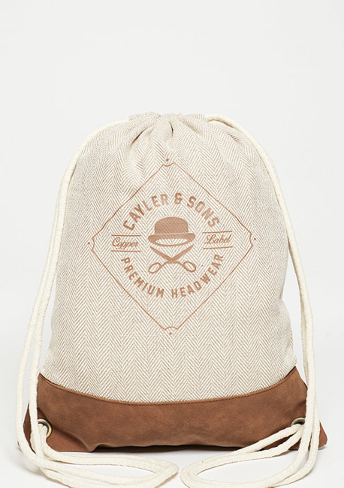 Cayler & Sons C&S CL Finest Cuts Gym Bag sand/brown/white
