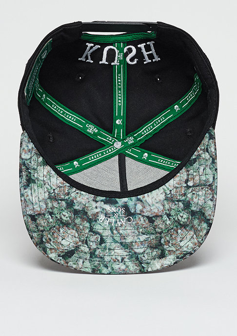 Cayler & Sons C&S Cap GL Kush Classic black/green kush