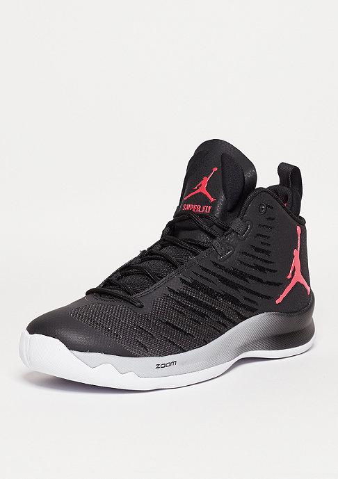 JORDAN Basketballschuh Superfly 5 black/infrared/black/wolf grey