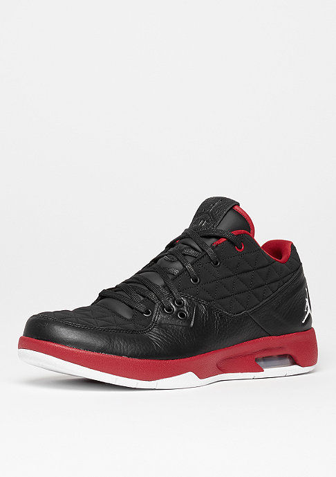 JORDAN Clutch black/white/gym red