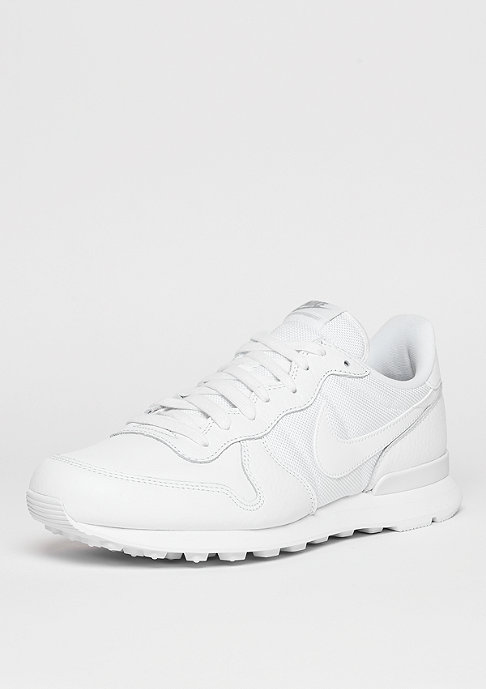 NIKE Internationalist white/white/metallic silver