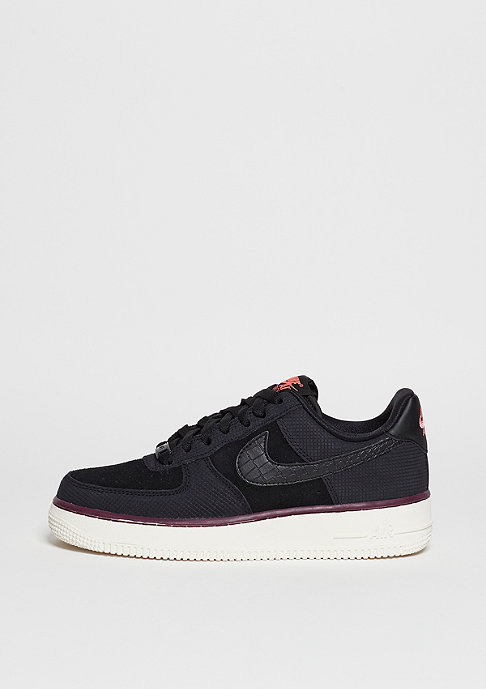 NIKE Air Force 1 07 Suede black/black/sail