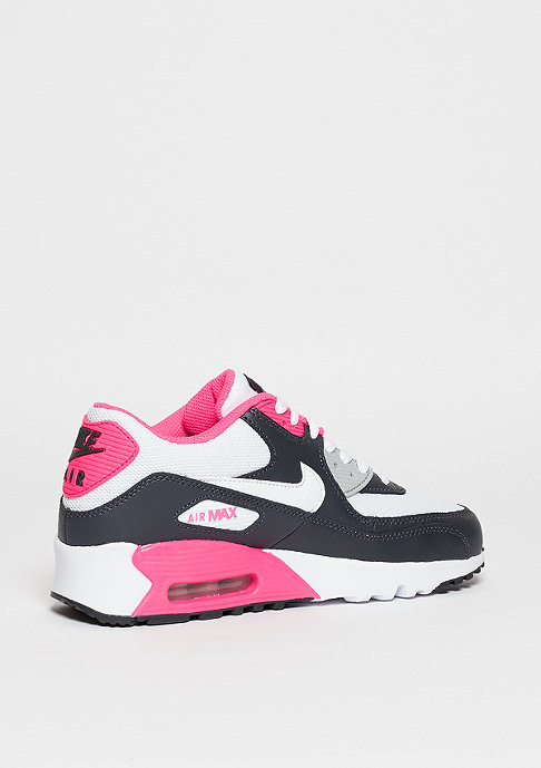 NIKE Air Max 90 Mesh anthracite/white/hyper pink