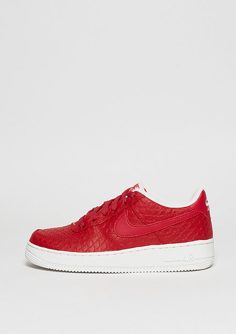 NIKE Schuh Air Force 1 LV8 (GS) action red/action red/white
