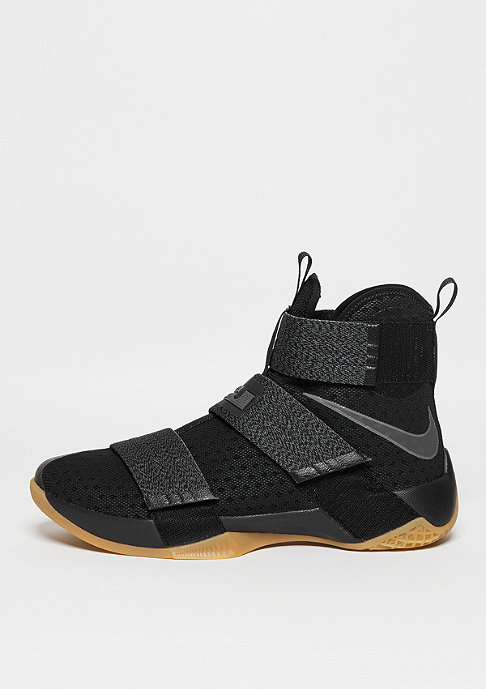 NIKE Lebron Soldier 10 SFG black/metallic dark grey/yellow