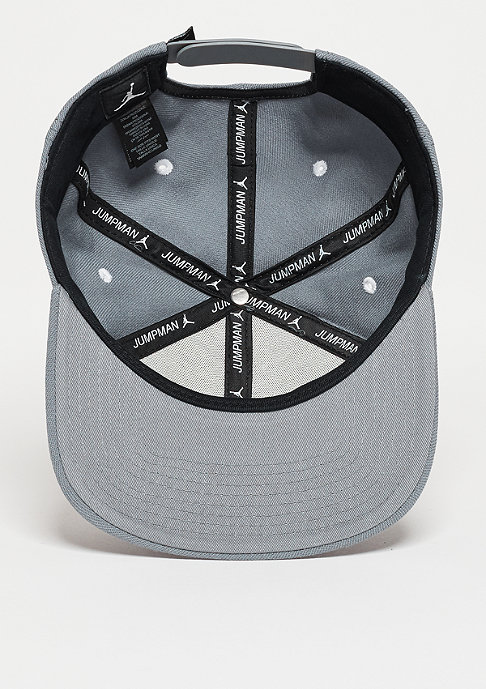 JORDAN Snapback-Cap Jumpman cool grey/white