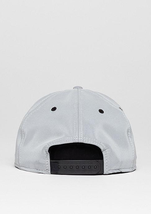 JORDAN Snapback-Cap Jordan 5 Retro reflective silver/black