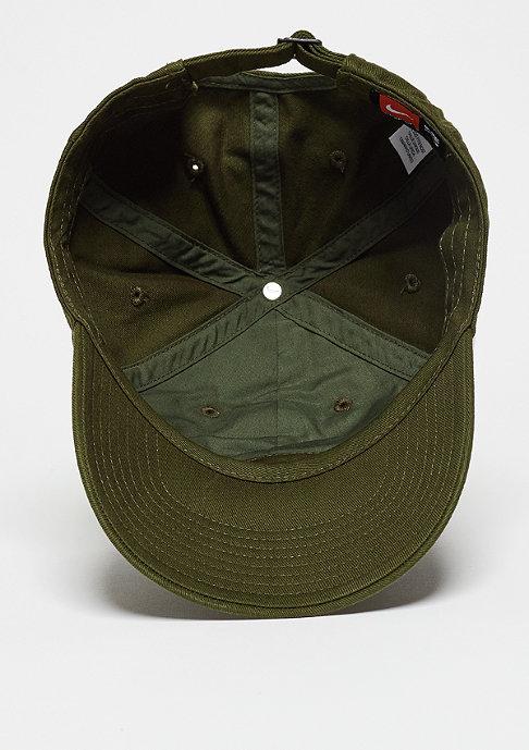 NIKE Baseball-Cap Heritage 86 Futura dark loden/dark loden/white