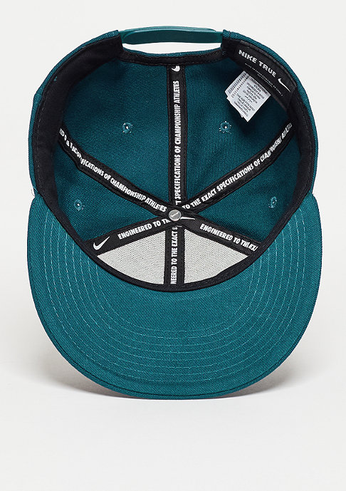 NIKE Snapback-Cap Limitless True midnight turquoise/midnight turquoise/white