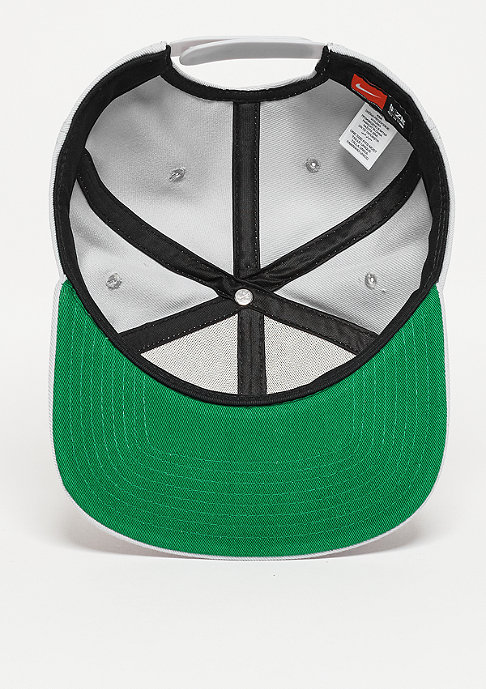 NIKE Snapback-Cap Swoosh Pro wolf grey/pine green/black