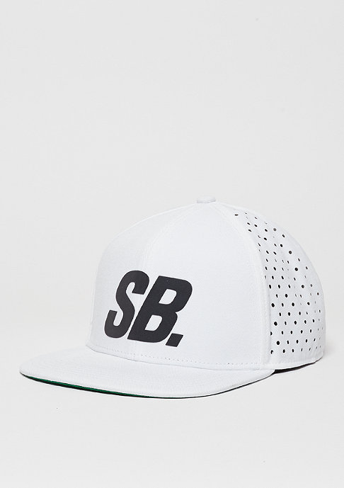 NIKE SB Snapback-Cap Reflect Perf white/black/white