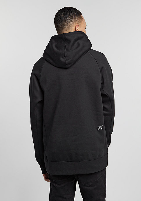 NIKE SB Hooded-Sweatshirt Icon Dots black/white