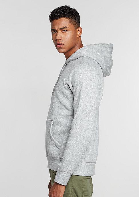 NIKE SB Hooded-Sweatshirt Icon Dots dark grey heather/black