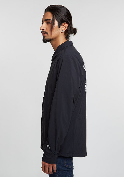 NIKE SB Jacke Coaches black/white