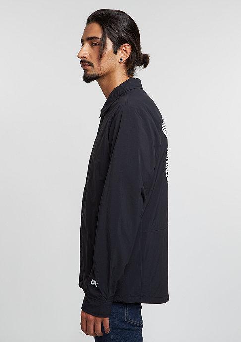 NIKE SB Coaches Jacket black/white