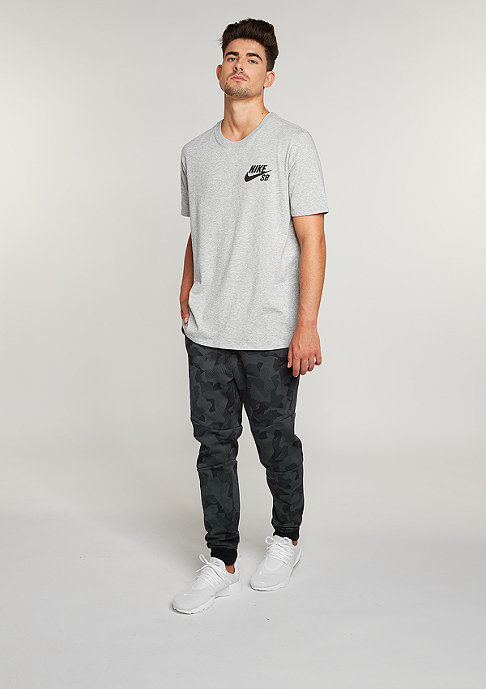 NIKE SB Ripped dark grey heather/dark grey heather/black