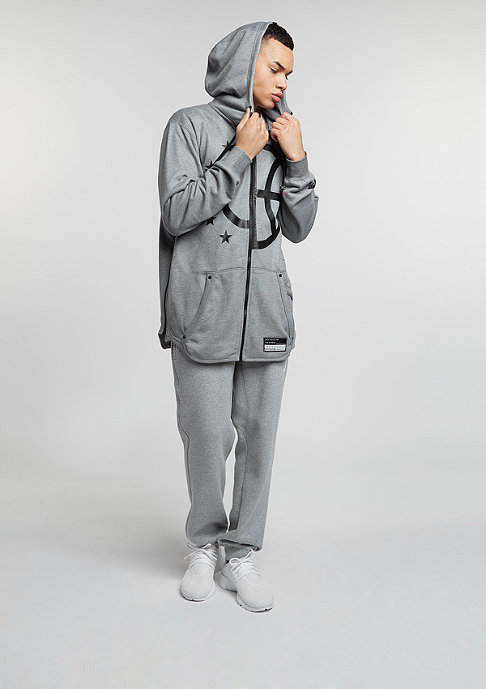 NIKE Hooded-Zipper Air carbon heather/cool grey/black