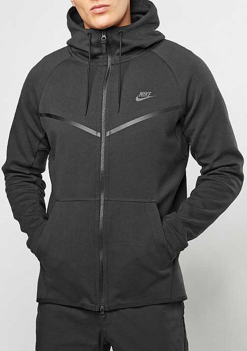 NIKE Tech Fleece Windrunner Hoodie black/black