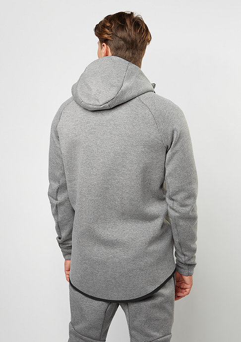 NIKE Tech Fleece Windrunner Hoodie carbon heather/black