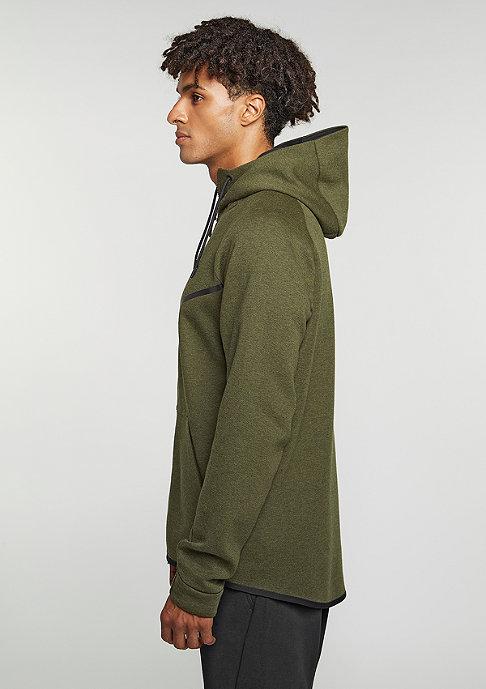 NIKE Tech Fleece Windrunner Hoodie dark loden/heather/black