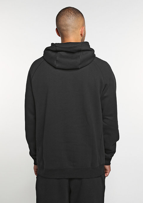 NIKE Sportswear Hoodie black/white