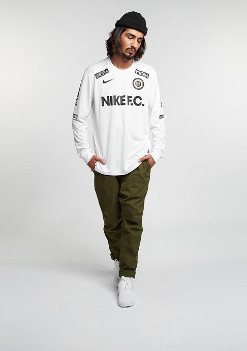 NIKE Longsleeve FC Top white