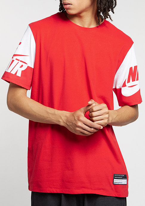 NIKE T-Shirt Air Sleeves university red/white/university red
