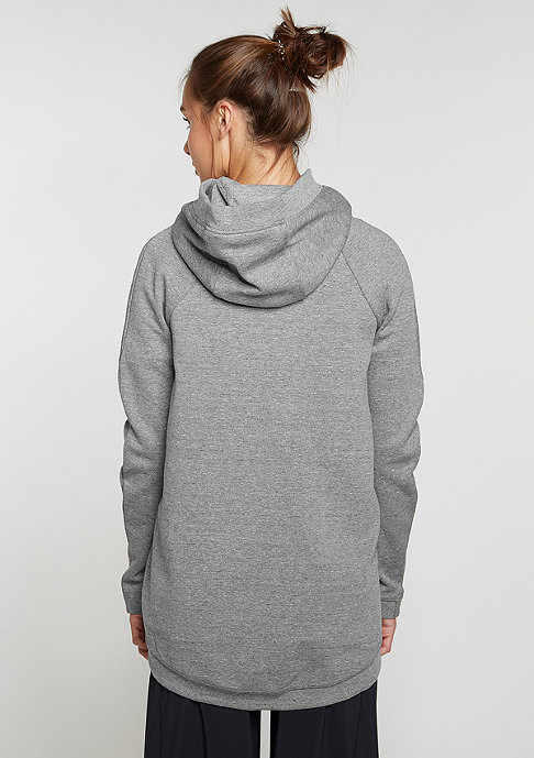 NIKE Hooded-Zipper Tech Fleece Cape carbon heather/carbon heather/black