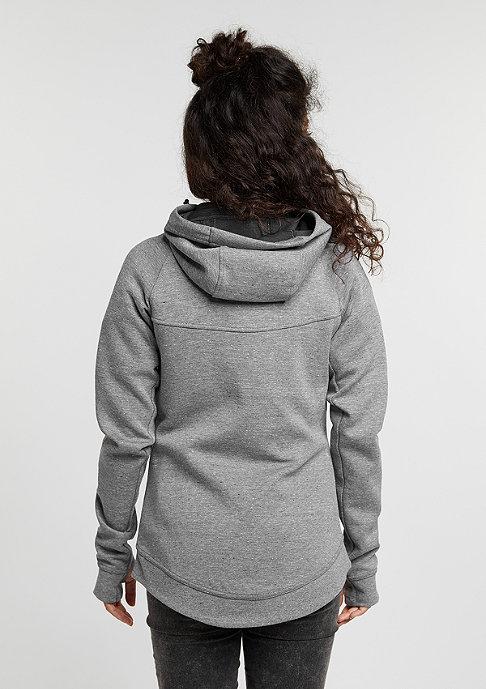 NIKE Tech Fleece FZ Hoodie carbon heather/black