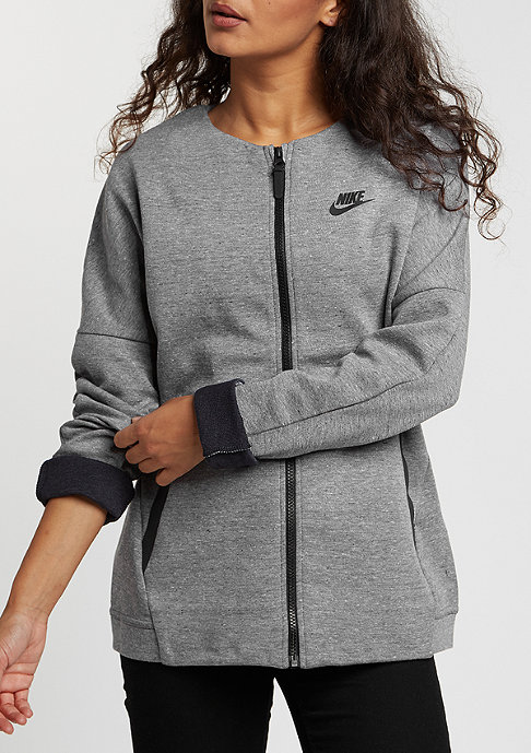NIKE Tech Fleece Bomber carbon heather/carbon heather/black