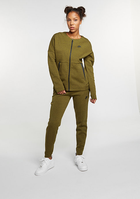 NIKE Tech Fleece Bomber olive flak/heather/olive flak