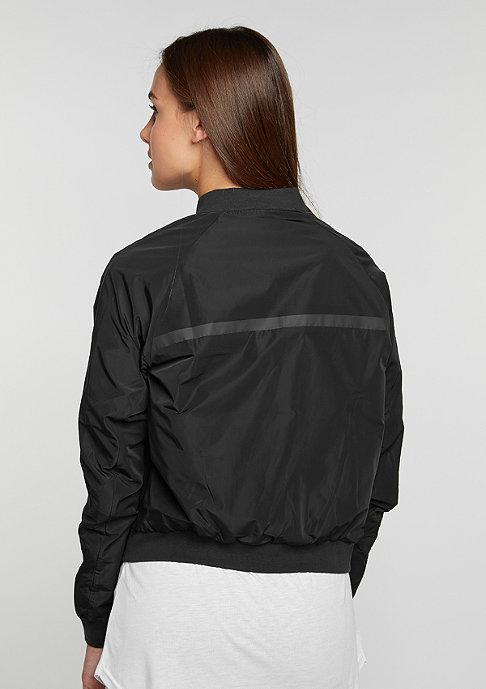 NIKE Übergangsjacke Tech Fleece Bomber black/black