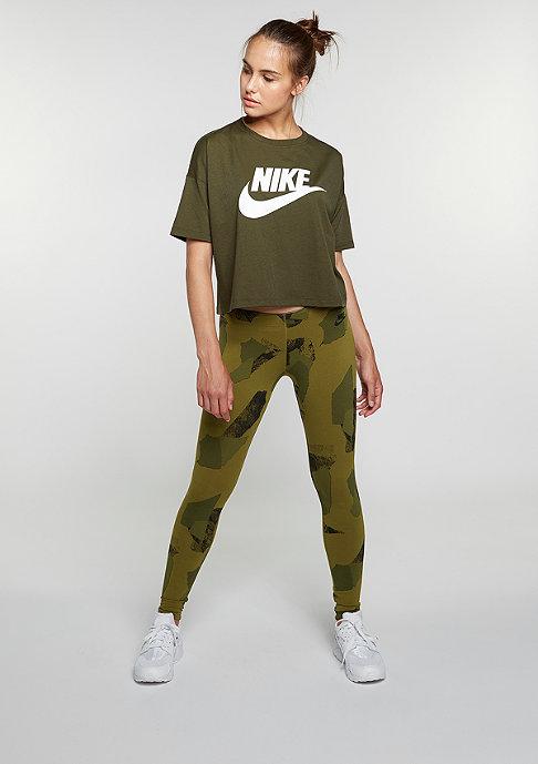 NIKE Leg-A-See Logo olive flak/black