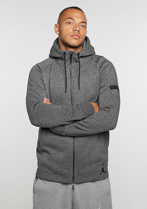 JORDAN Hooded-Zipper Icon Fleece Full-Zip black/black
