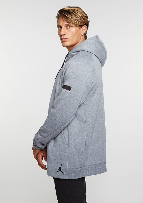 JORDAN Icon Fleece Full-Zip cool grey/black