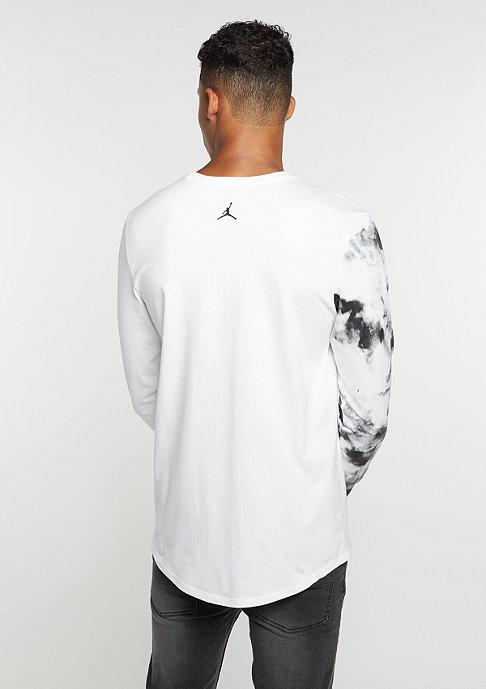 JORDAN Longsleeves Printed Dreams white/white/black
